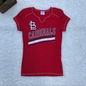 Women's St. Louis cardinals Geuine Merchandise tee